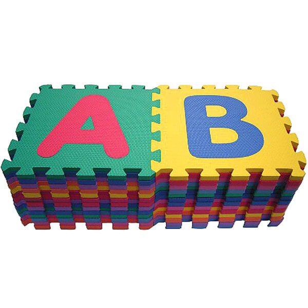 Alphabet & Number Puzzle Mat